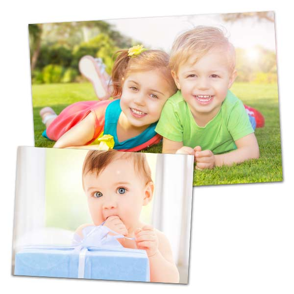 With a metallic, lustrous finish, our metallic prints will showcase any image with rich colors and deep contrast.
