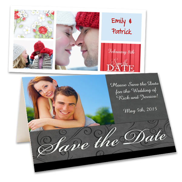 Create the perfect save the date card for any occasion with your most beloved photos.