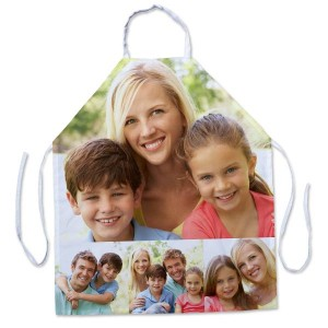 Personalize your own photo apron with a collage of your most beloved memories.