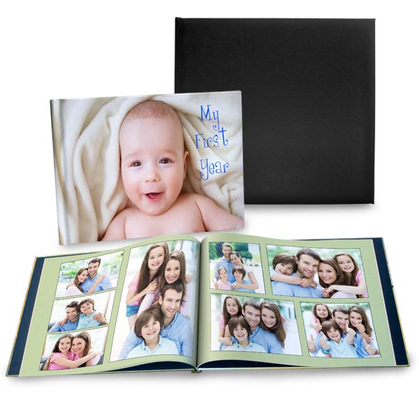 Choose a size and style and get creative with your fully customized picture album today.