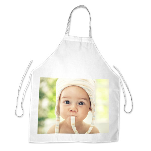 Create your own photo apron with Winkflash, add your favorite picture