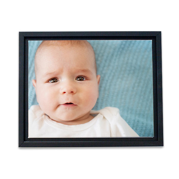 Our floating frame canvas will add a professional touch your favorite photos and add interest to any decor.