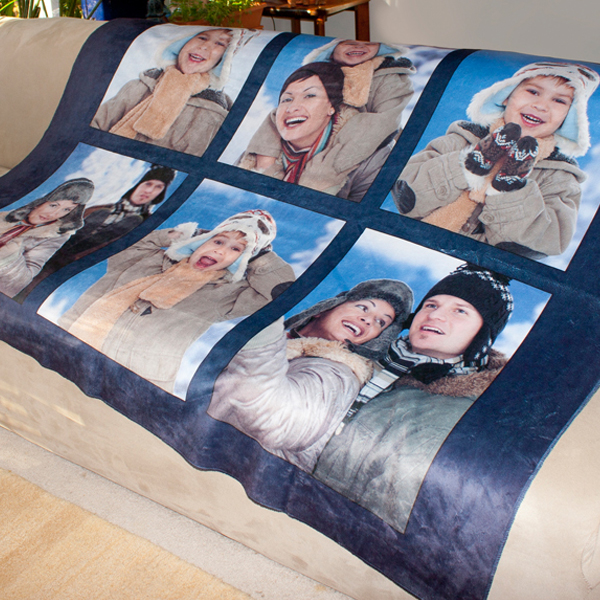 Personalized sherpa blanket throw to keep you warm cool nights