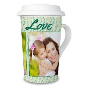Add a personalized touch to your morning routine with our custom photo latte mug.