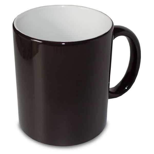 Black Magic Color Change Mug Black