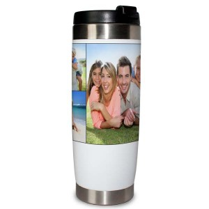 Travel tumbler for keeping your beverage hot during your morning commute