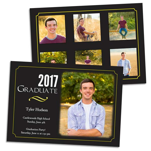 Choose from a large variety of stylish templates and create the perfect graduation card in minutes!