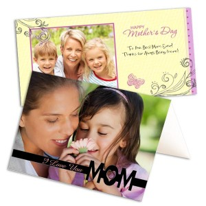 Express your love for Mom this Mother's Day with a personalized photo greeting card.