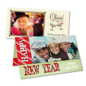 Select an elegant template and create a festive New Year's invitation or greeting card.