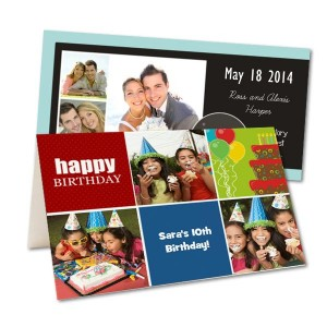 For your next party or event, create your own stunning invitations using your own photos.