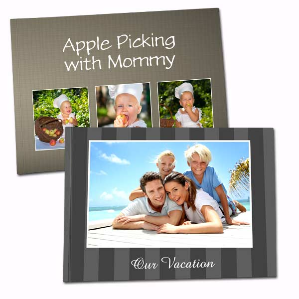 Design your own photo cover book with our soft cover 6x8 photo book