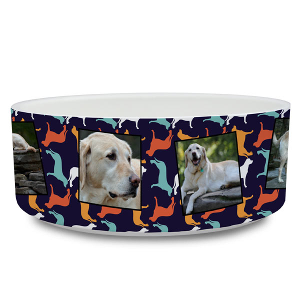 Design the perfect pet accessory by creating your own photo pet bowl for your furry friends.