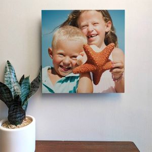 Fill your space with photo tiles beautiful and easy to hang photo wall art