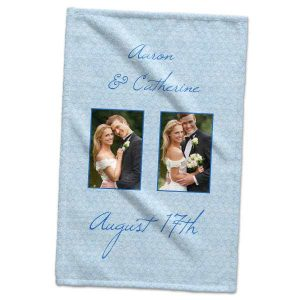 Decorate your bathroom or kitchen with memories and create a custom printed hand towel of your own.
