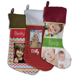 Adorn your mantle this Christmas with our fully customized photo stockings perfect for each member of the family.