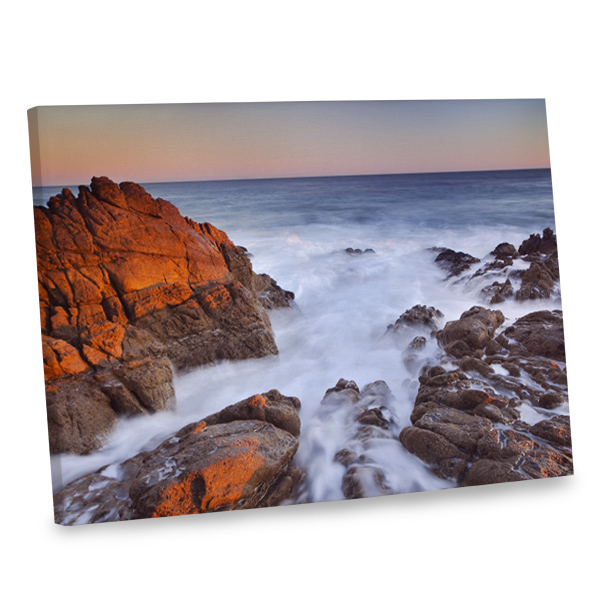 Incorporate the beauty of the ocean into your home's interior with our ocean photo canvas.