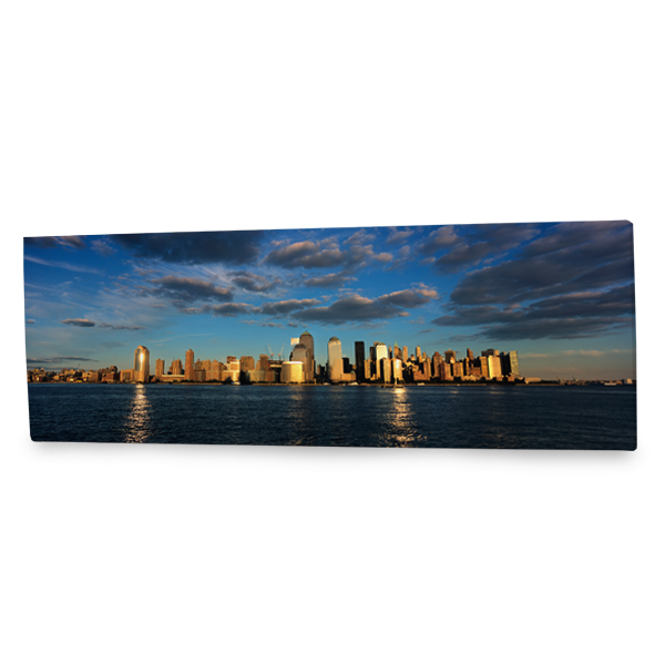 Perfect for any focal wall, our panoramic city skyline canvas is sure to add a unique flair to your decor.