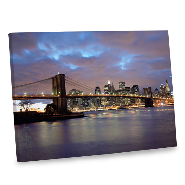 Our Brooklyn Bridge canvas print is available in multiple sizes to spice up any room in your home.