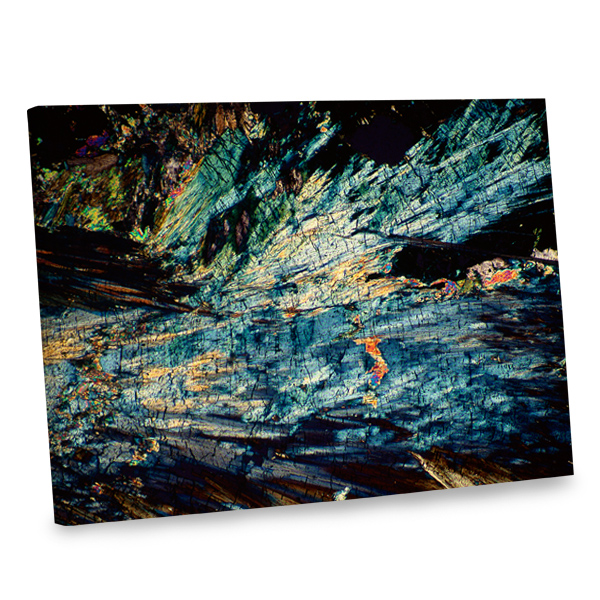 Add a gallery like feel to your decor with our abstract canvas print.