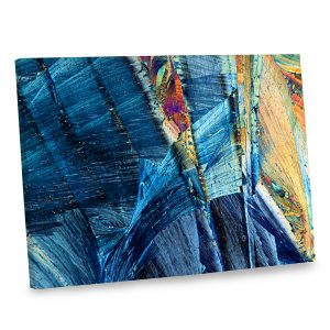 Our colorful abstract canvas print is sure to brighten up your wall decor in elegance and style.