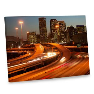 Dress up any wall in your home with our stunning Houston canvas print.