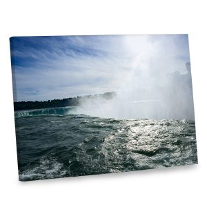 Our edge of falls canvas will add a natural beauty to your distinctive home decor.