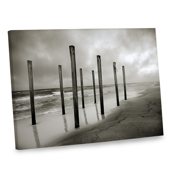 Add the beauty of the seaside to your decor with our beach themed canvas decor print.