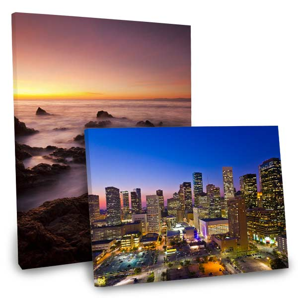 Decorate any room with a stunning photo and choose a canvas from our photo art collection.