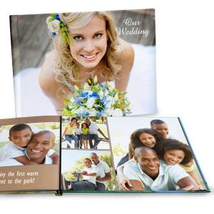 Showcase your best photos with our custom hardcover lay flat photo books.
