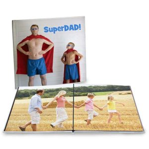 Create a coffee table book for your home with a large 12x12 lay flat photo book from Winkflash