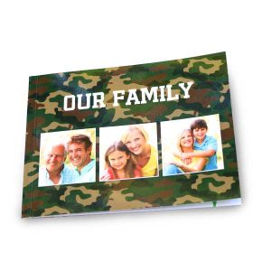 Create a small 4x6 softcover photo book for sharing your photos