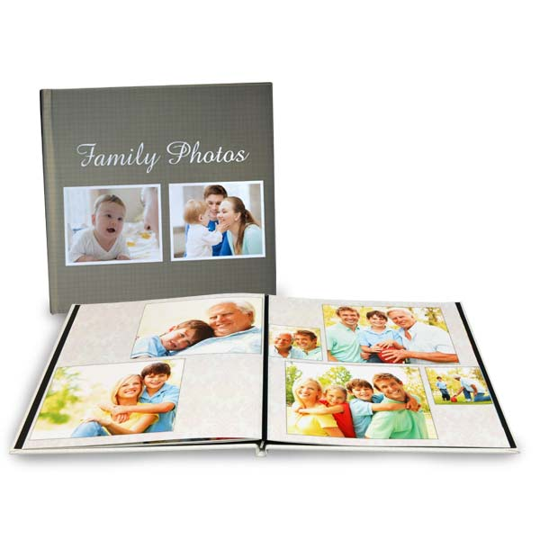 Create a beautiful photo book with lay flat pages perfect for any occasion