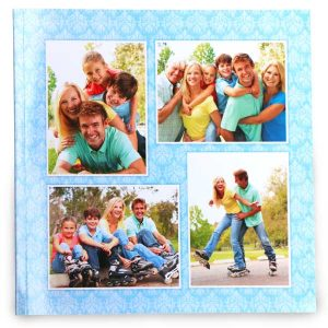 Brilliantly printed pages in a custom softcover photo book size 8x8 for your album collection