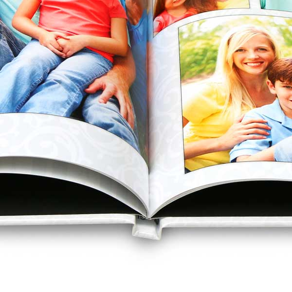 Create a beautiful 11x14 hardcover photo book for your picture album collection and home display