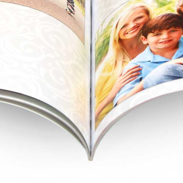 4x6 photo book with glue binding and paperback cover