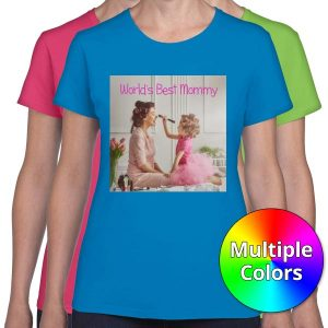 Create your own personalized t-shirts perfect for mom with Women's T-shirts from Winkflash