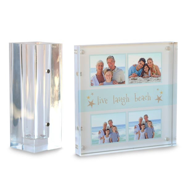 Beautiful and modern, custom photo acrylic pencil holder