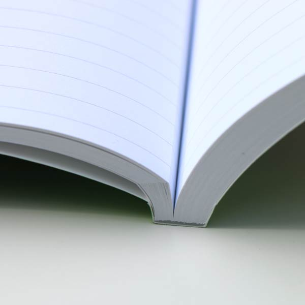 Our softcover journals are expertly bound with perforated pages