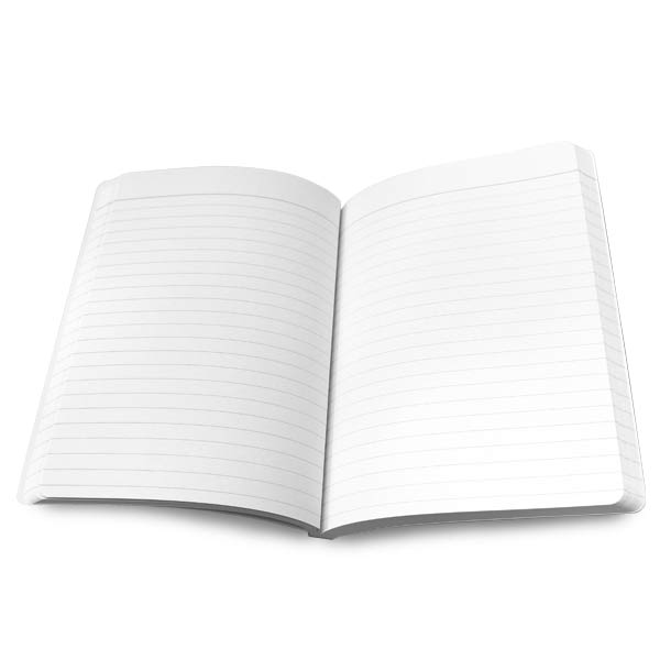 Each journal included blank pages for your to tell your story and keep your notes