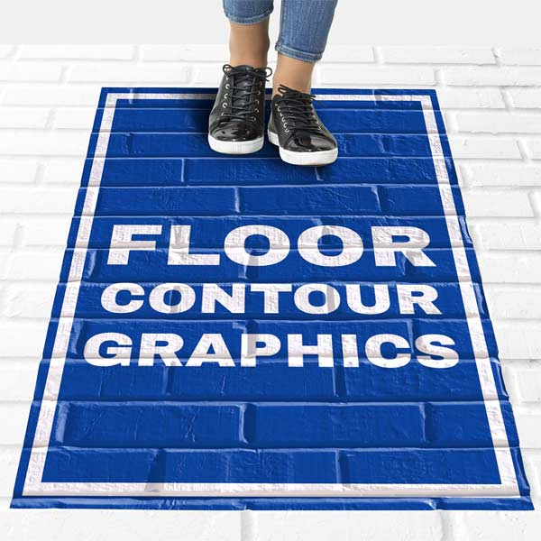 Contour graphics shape to any surface and lasts up to a year!