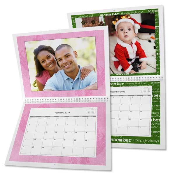 Create your own personalized 2019 calendars with photos