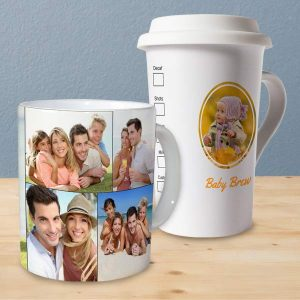 Create your own photo mugs and drinkware with Winkflash