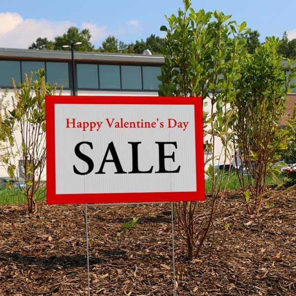 Lawn signs are a perfect way to market your business and get your name seen