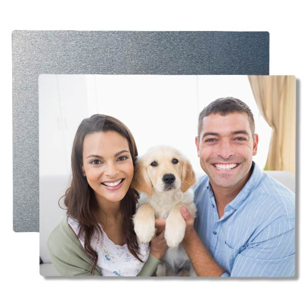Add a lustrous shine to any photo and create your own stunning aluminum panel print.