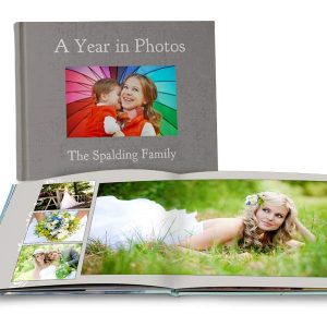 Full Spread Lay Flat books created for your and your photos make the perfect addition to your picture collection