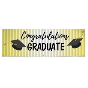 Order a banner for your graduate today and plan a party