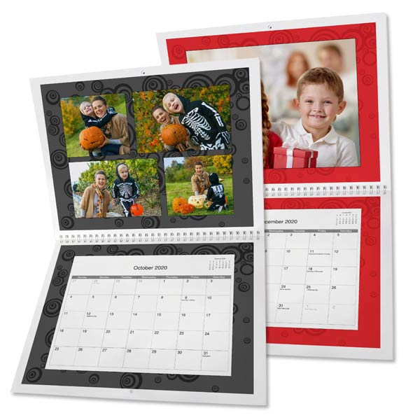 Create your own personalized 2020 calendars with photos