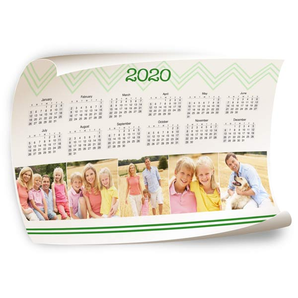 Our fully customized poster wall calendar is perfect for brightening your home or office decor.