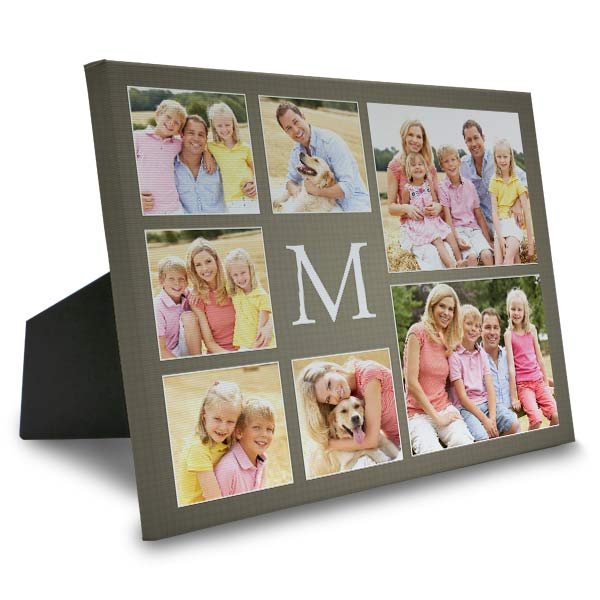 Create photo collage art for your home with designer photo canvas from Winkflash.