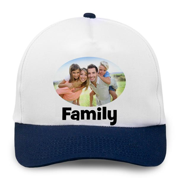 Create a personalized gift for dad or grandpa with a custom photo hat.